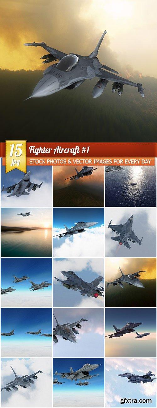 Fighter aircraft #1, 15 x UHQ JPEG