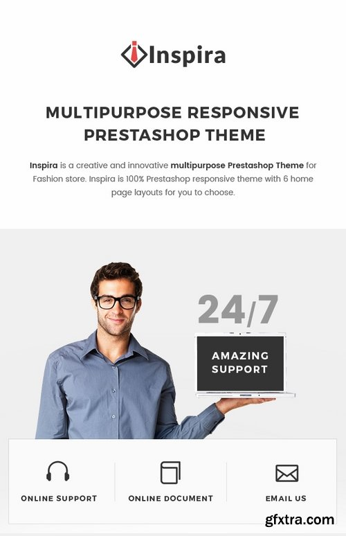 ThemeForest - Inspira - Multipurpose Responsive Prestashop Theme 19355530