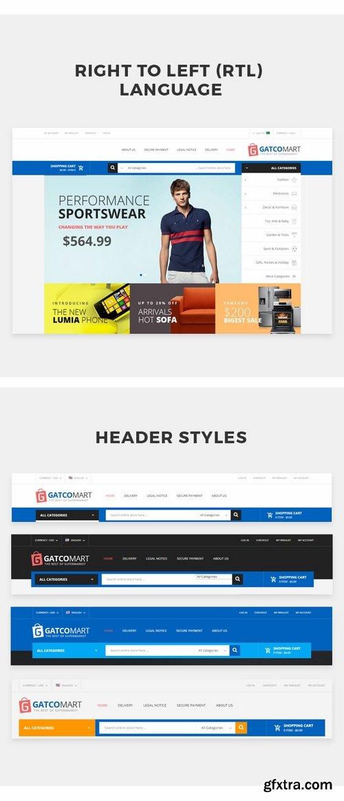 ThemeForest - GatcoMart - Multipurpose Responsive Prestashop Theme 19027195