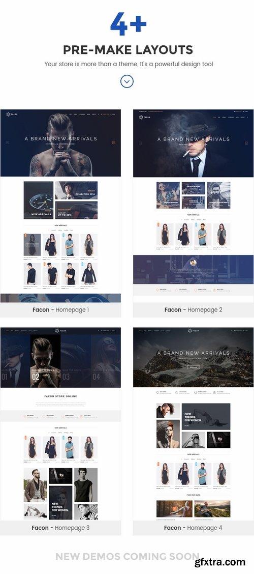 ThemeForest - Facon - Fashion Responsive Opencart Theme 19303700