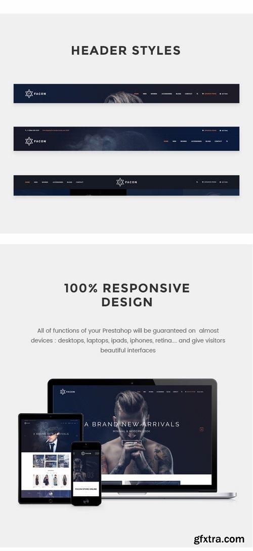 ThemeForest - Facon - Fashion Responsive Prestashop Theme 16683159