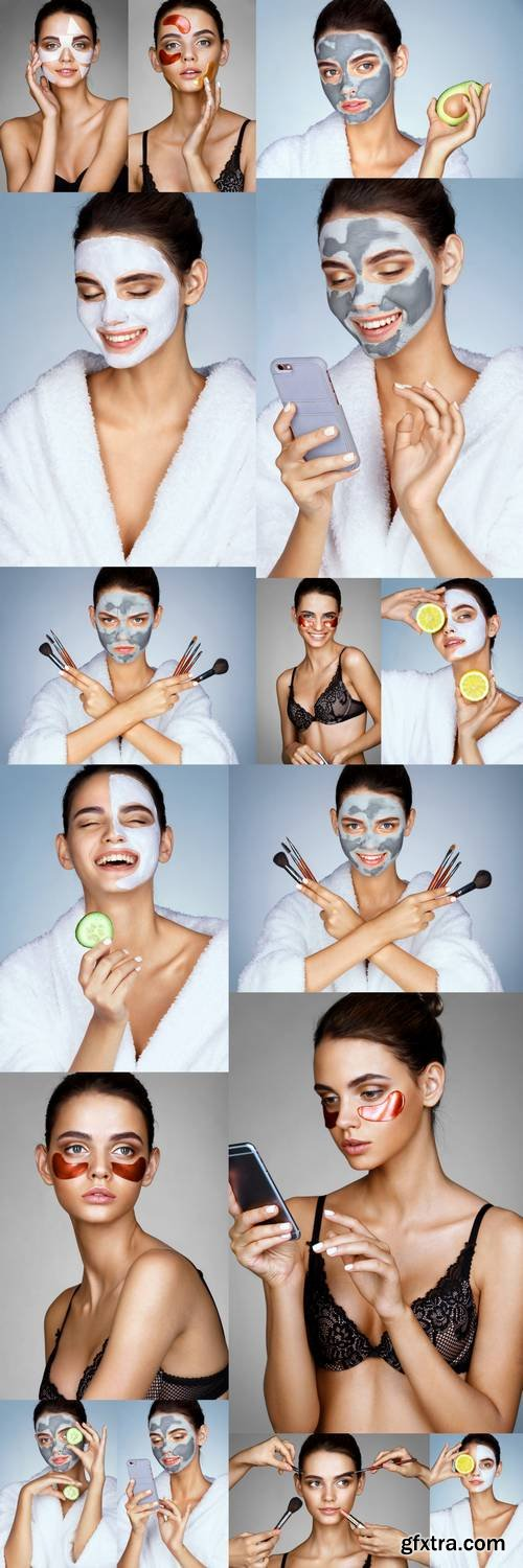 Cheerful Girl - Beauty and Skin Care Concept
