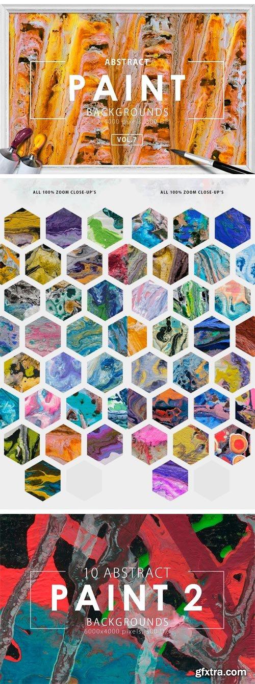 CM 1166901 - Only Paint Backgrounds Bundle