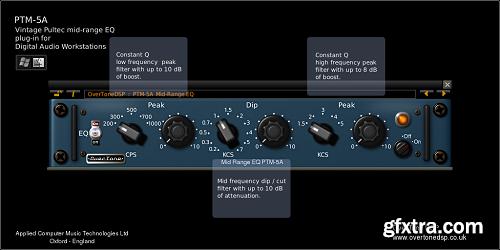 OverTone DSP PTM-5A v3.0.2 LiNUX Incl Keygen-R2R