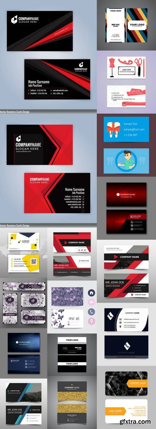 Business Cards Mix 2