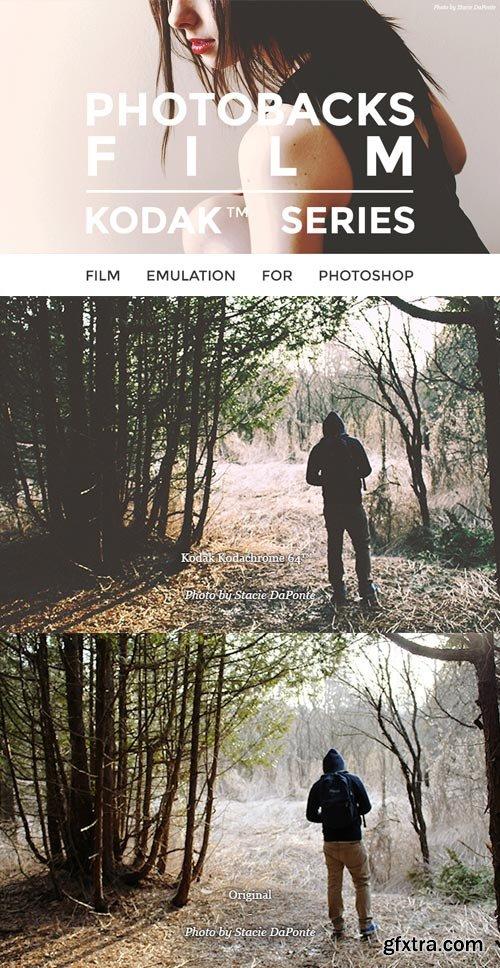 PhotoBacks - Photobacks Film Actions: Kodak Series