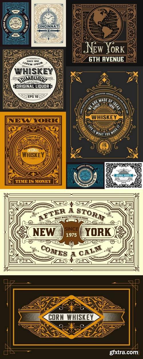 Vintage Cards Design