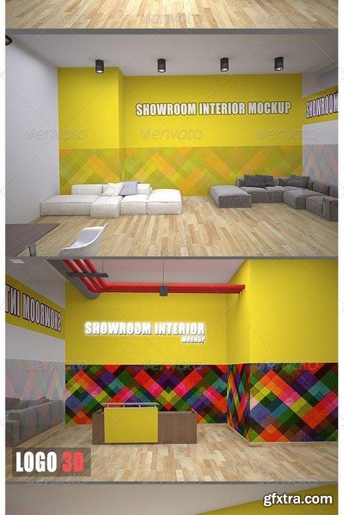 GraphicRiver - Showroom Interior Mockup 8069536