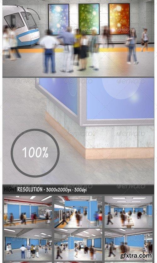 GraphicRiver - Advertising Branding Mockup 8031152