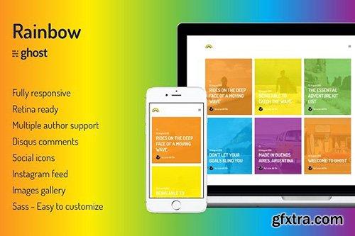 Rainbow v1.0.0 - Colorful Ghost Theme - CM 1140738