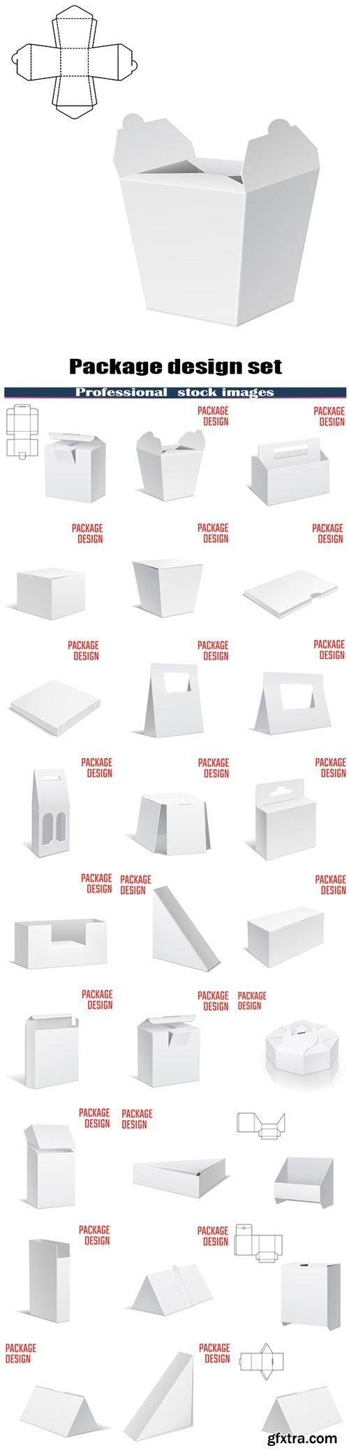 Package design set