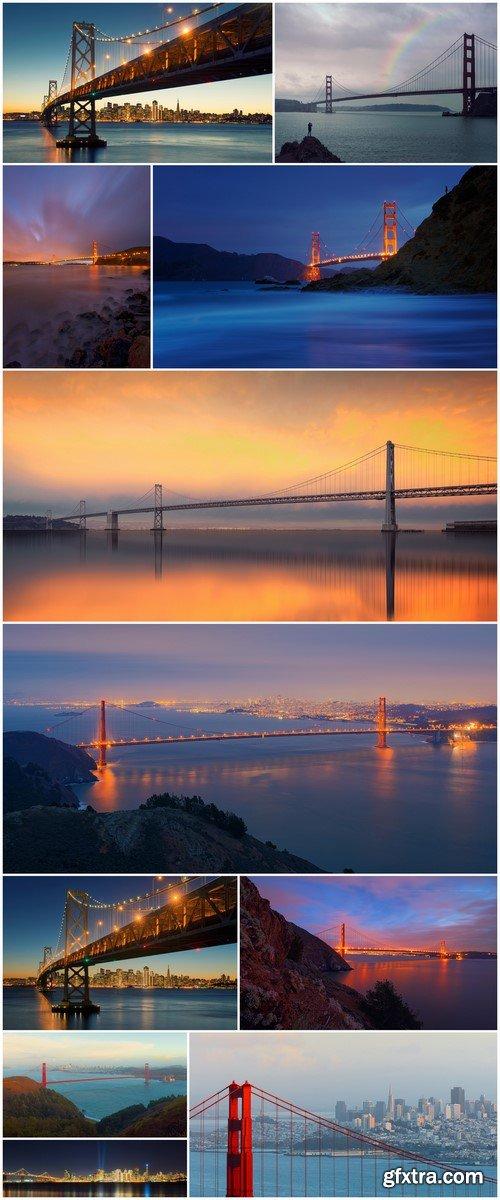 Golden Gate Bridge, San Francisco 11X JPEG
