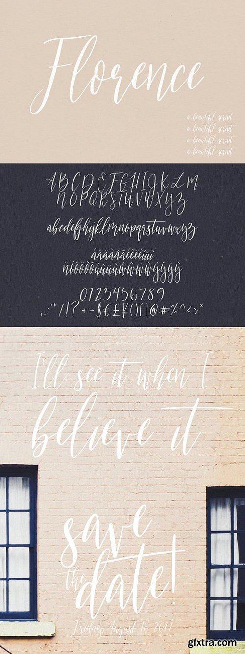 CM - Florence | A Beautiful Script 1247342