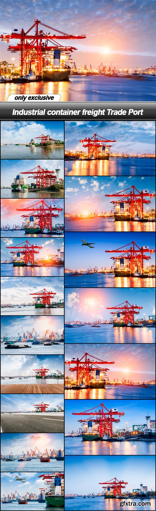 Industrial container freight Trade Port - 17 UHQ JPEG