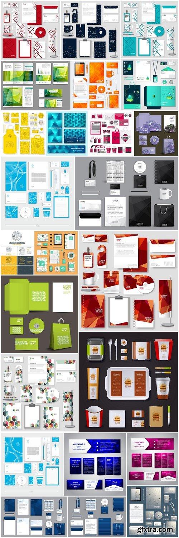 Modern Corporate Identity Template - 25 Vector