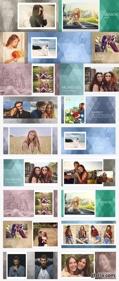 PhotoBacks - Memory Book Template Set 01