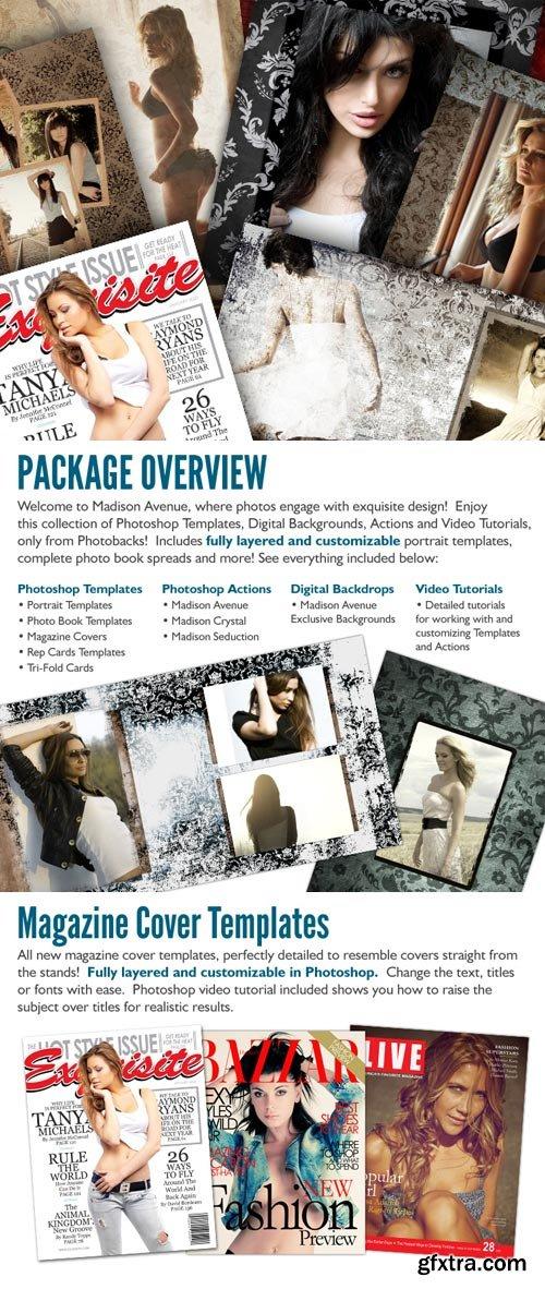 PhotoBacks - Madison Avenue Package
