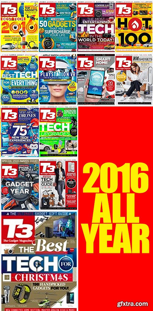 T3 The Gadget Magazine [2011-2016, PDF, ENG]