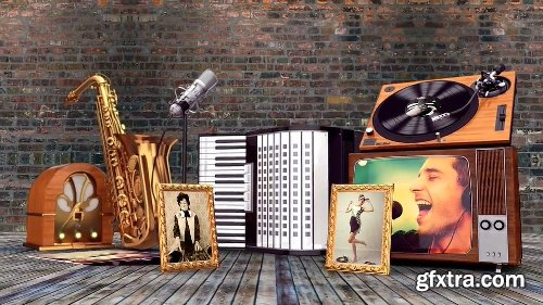 Videohive Vintage Music Opener 19167072
