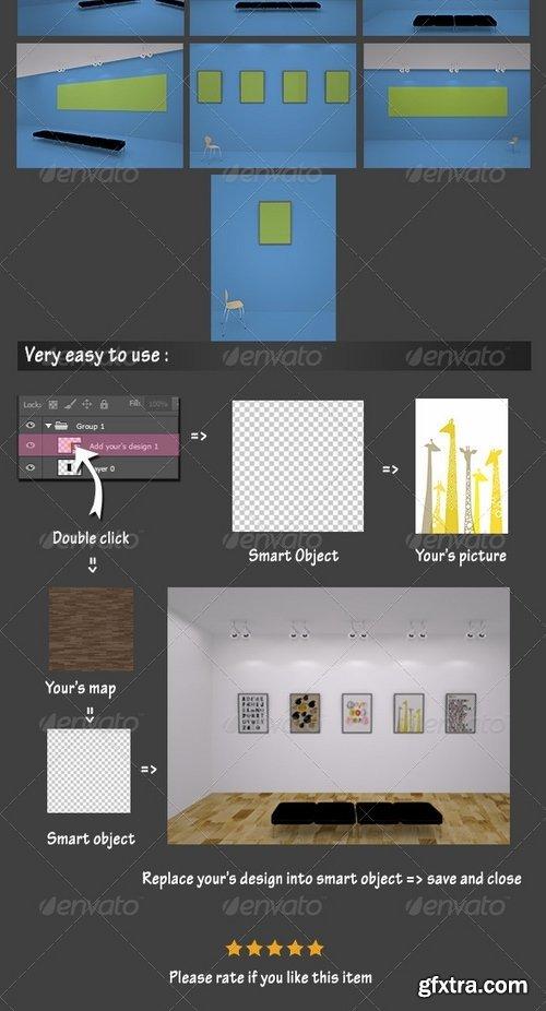 GraphicRiver - Exhibition Mockup 7167469