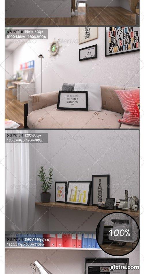 GraphicRiver - Frame Picture Mockup 7264300