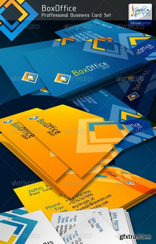 GraphicRiver - BoxOffice Official Business Card 551645