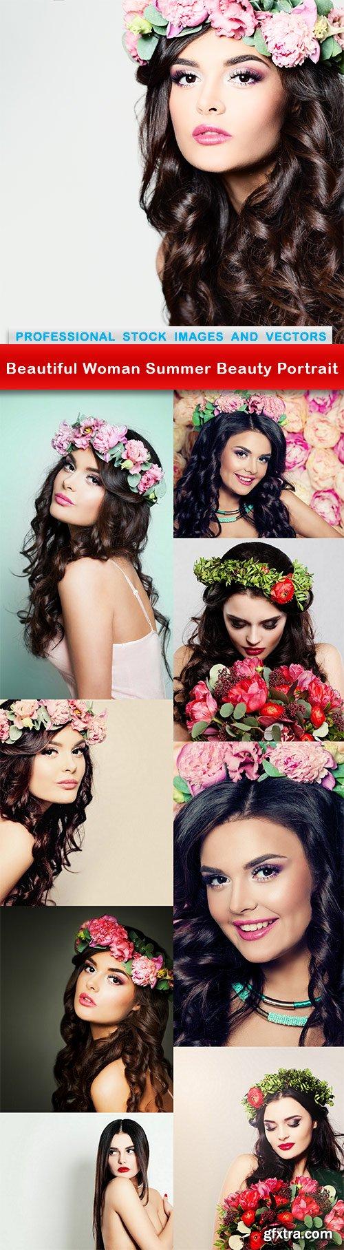 Beautiful Woman Summer Beauty Portrait - 9 UHQ JPEG