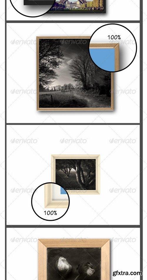 GraphicRiver - Frame Picture Mockup Vol2 7272448