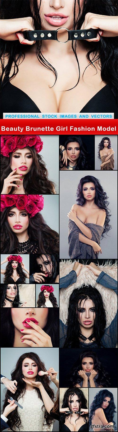 Beauty Brunette Girl Fashion Model - 16 UHQ JPEG