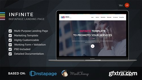 ThemeForest - Infinite v1.0 - Marketing Instapage Template - 19224691
