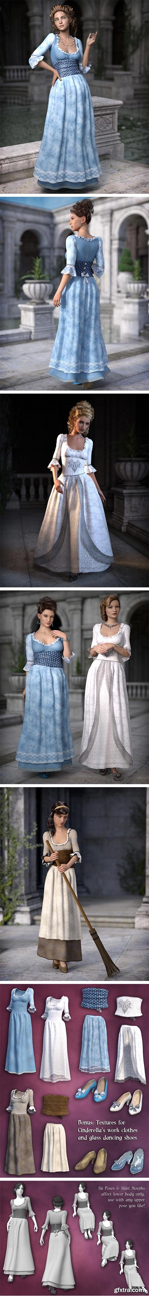 DAZ3D - Fairytale Princess for Genesis 3 Female(s) 24395