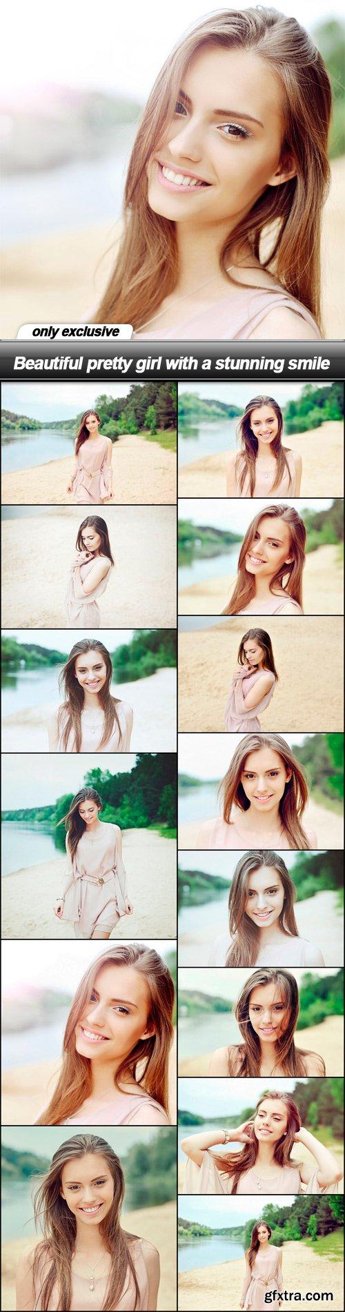 Beautiful pretty girl with a stunning smile - 14 UHQ JPEG