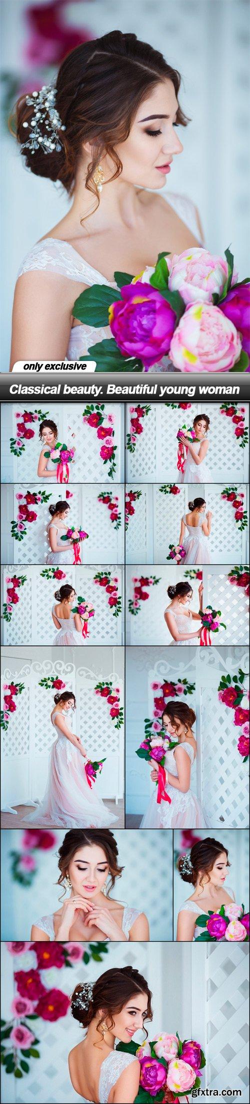 Classical beauty. Beautiful young woman - 11 UHQ JPEG