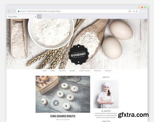 CM - Cooking WordPress Theme \