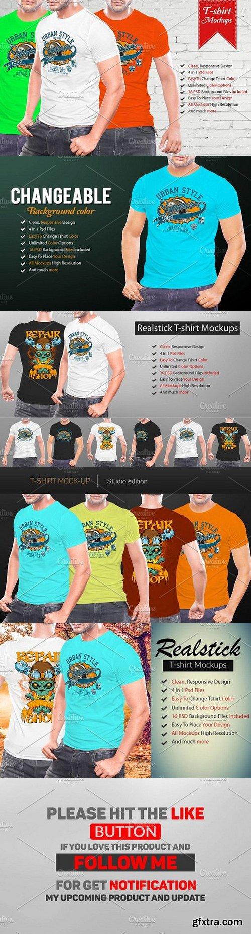 CM - Realistic Tshirt Mockup 1268991