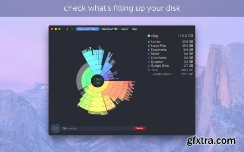 DaisyDisk 4.4 (Mac OS X)