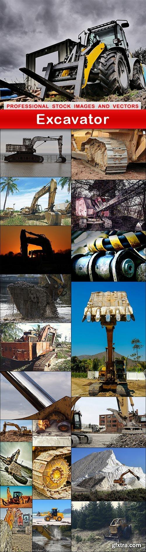 Excavator - 22 UHQ JPEG