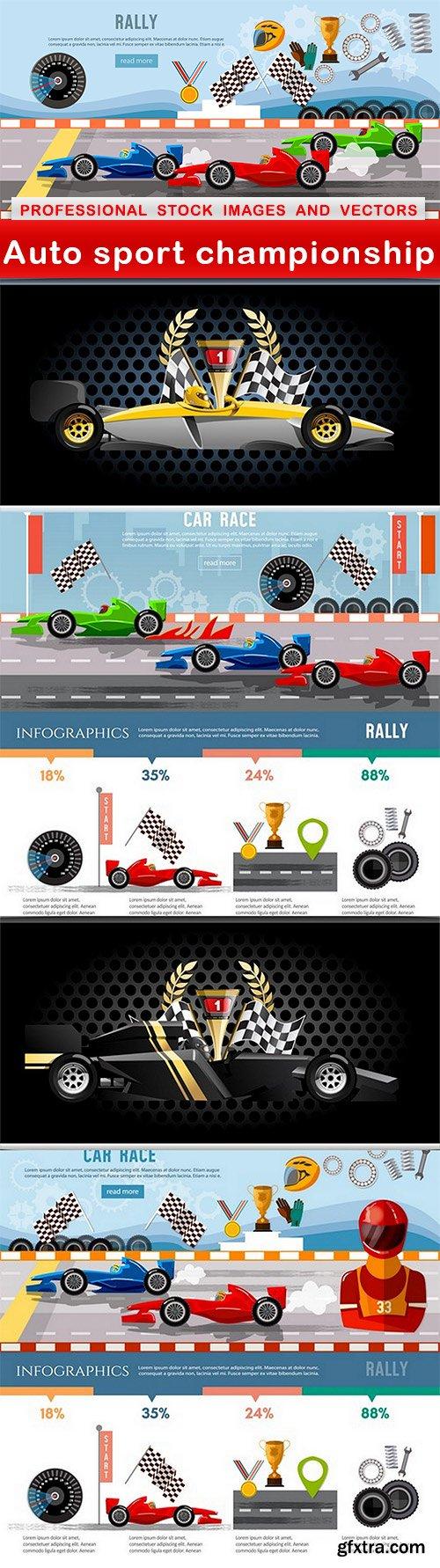 Auto sport championship - 5 EPS