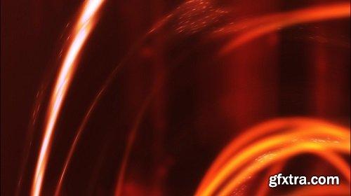 Swirling fiery streaks
