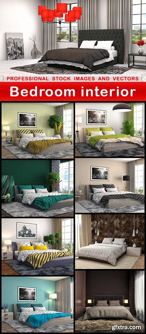 Bedroom interior - 9 UHQ JPEG