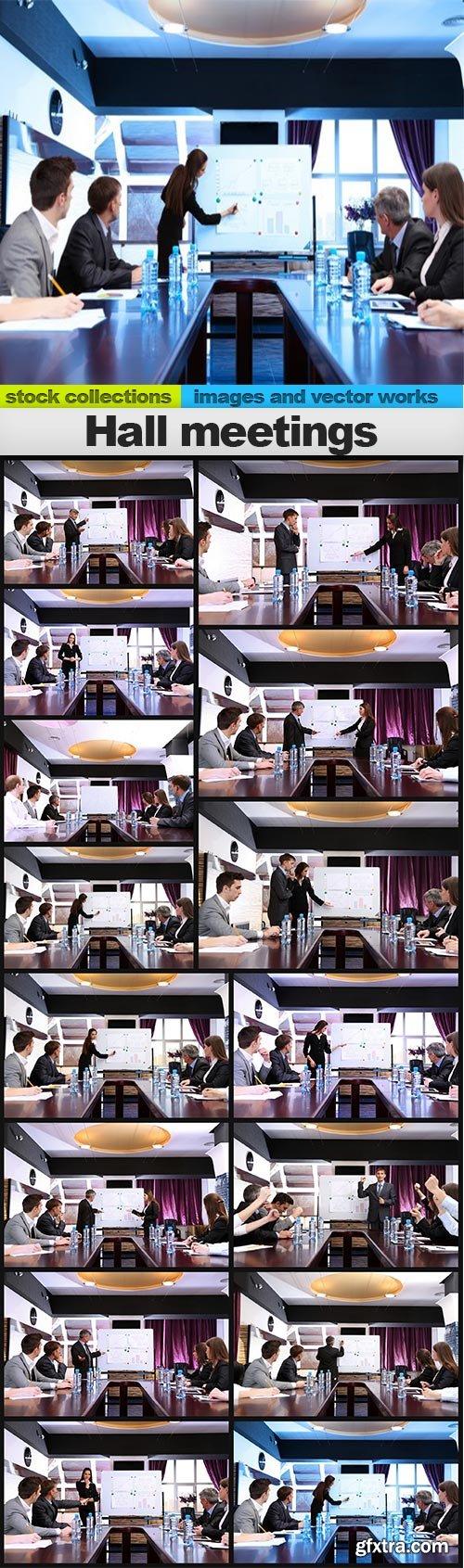 Hall meetings, 15 x UHQ JPEG