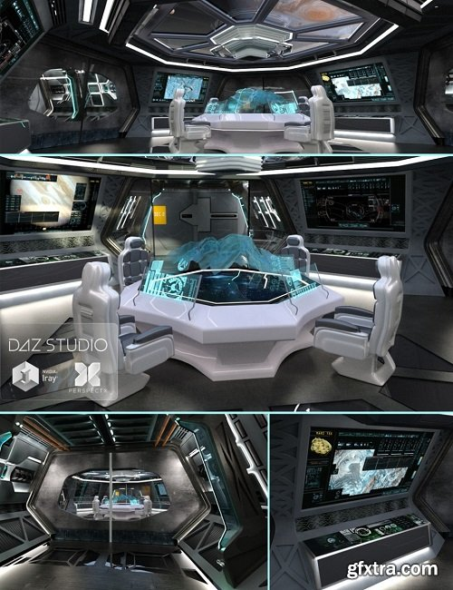 Spaceship Command Center