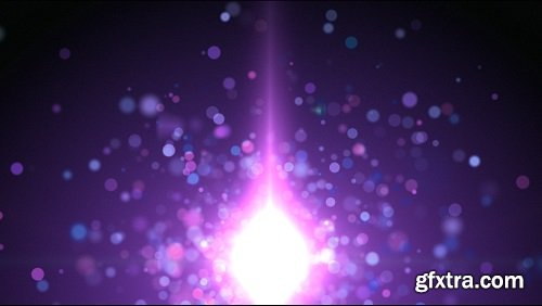 Shimmering particles