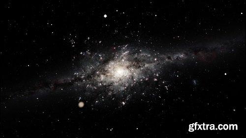 Shooting galaxy