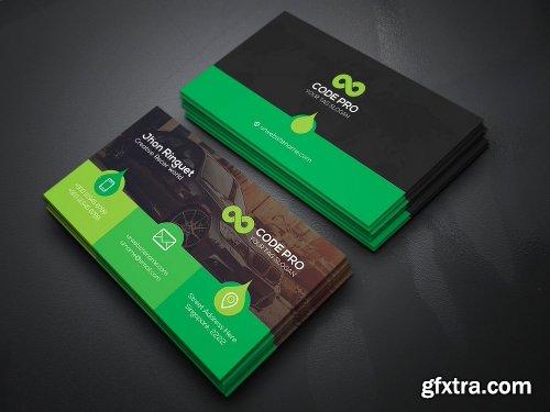 CreativeMarket Simple Minimal Business Cards Bundle 1291426
