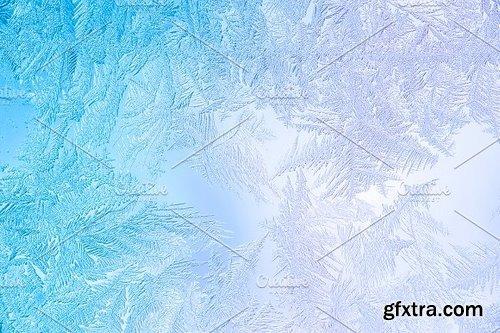 CM - 20 Frozen Window Background Textures 1256159