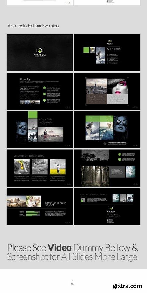 GraphicRiver - Portolia Multipurpose Clean Portfolio Keynote 6452302