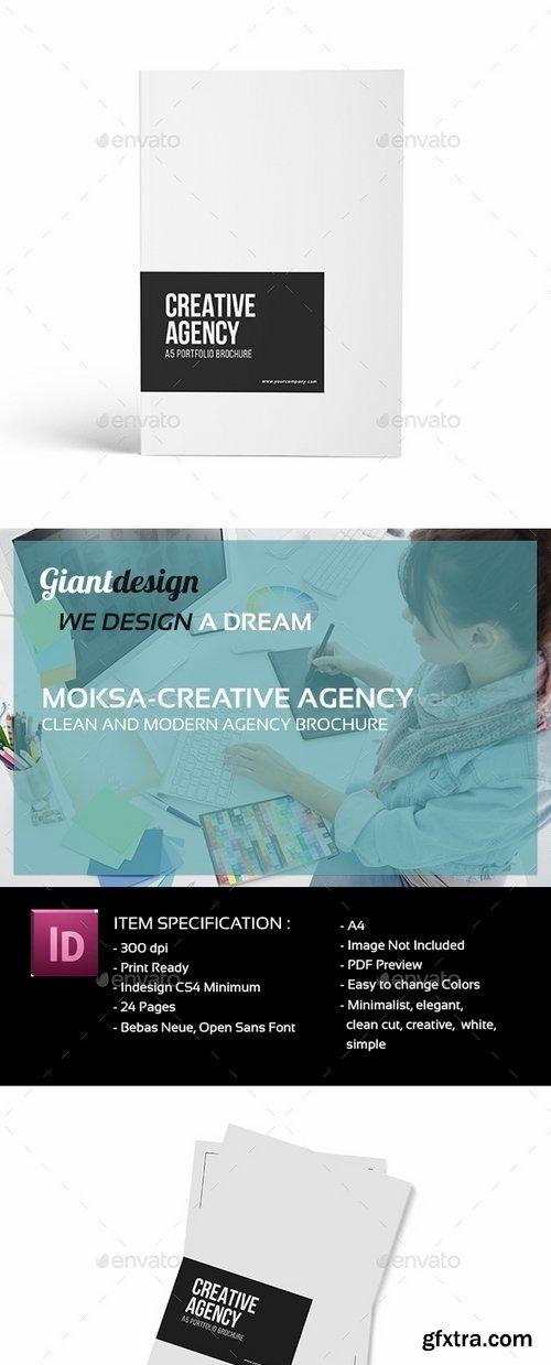 GraphicRiver - Creative Agency - A4 Portfolio Brochure 19529923