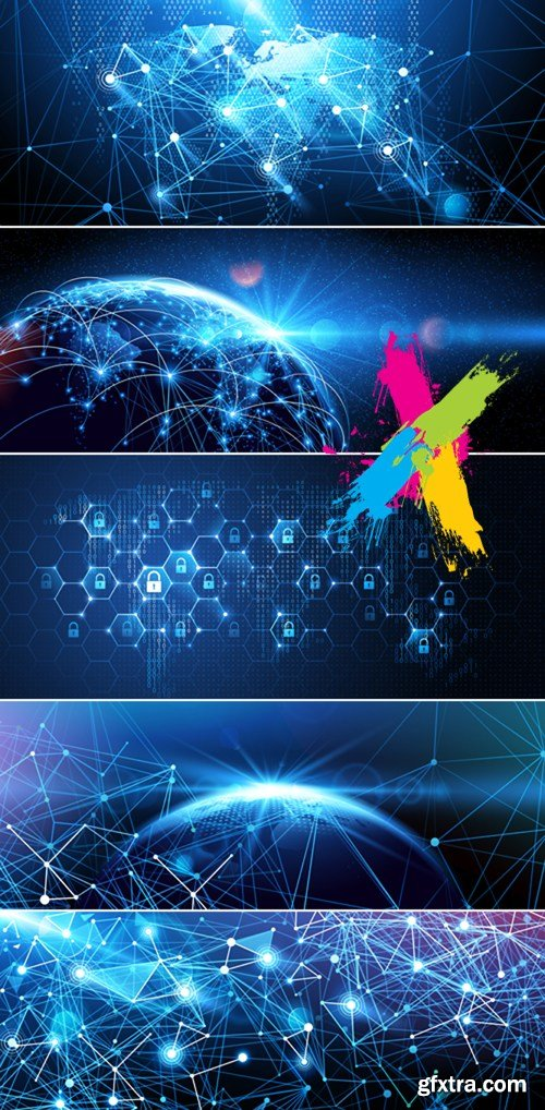 Global Network Concept Vector 2