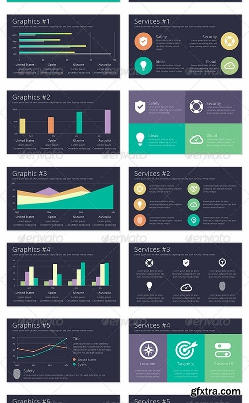 GraphicRiver - Color-X Keynote Template 8365792